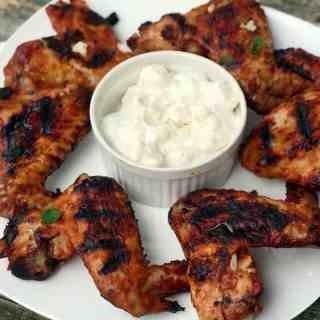 grilled spicy wings