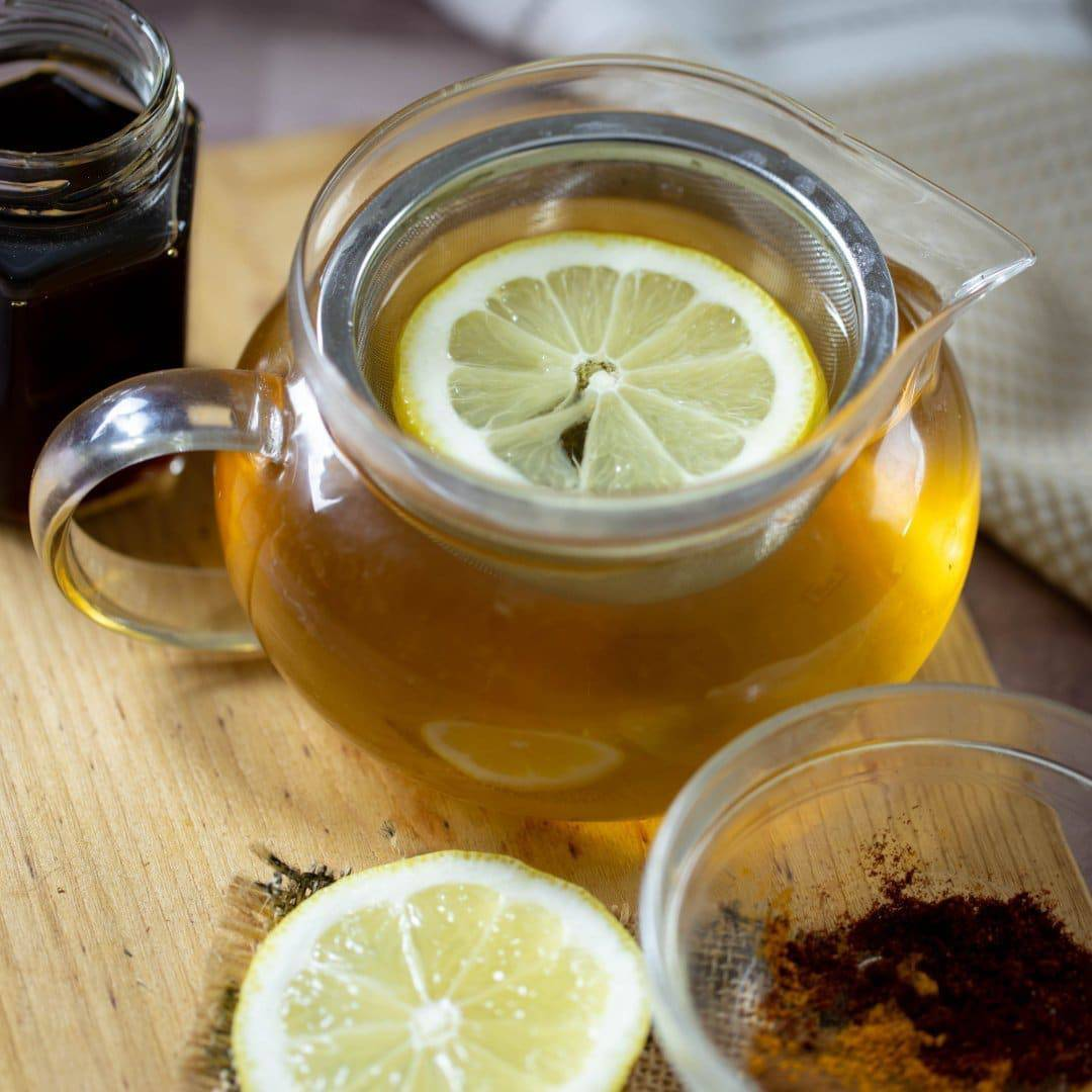 Detox Lemon Ginger Green Tea