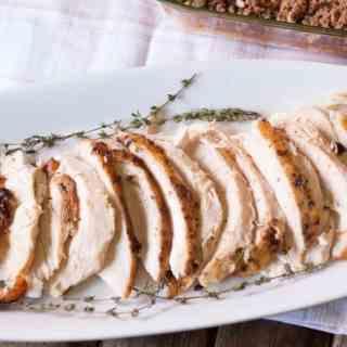 bourbon maple roasted turkey breast