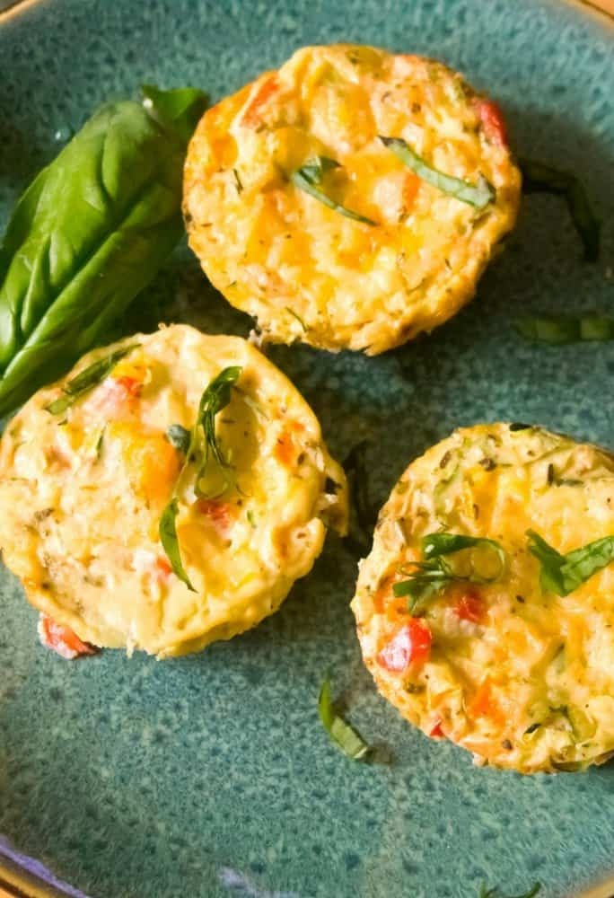 healthy vegetable egg muffin