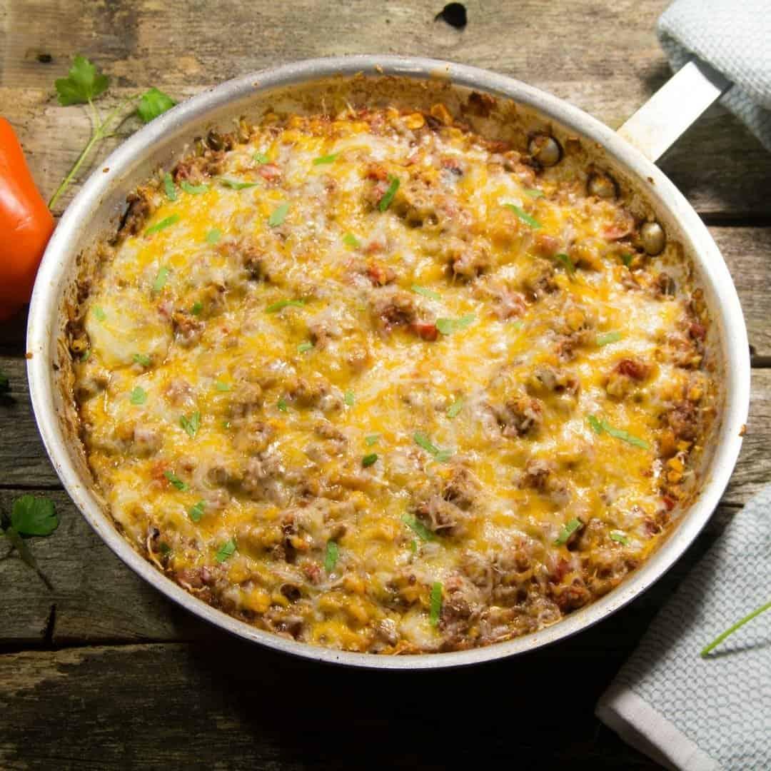 Easy Skillet Texas Hash