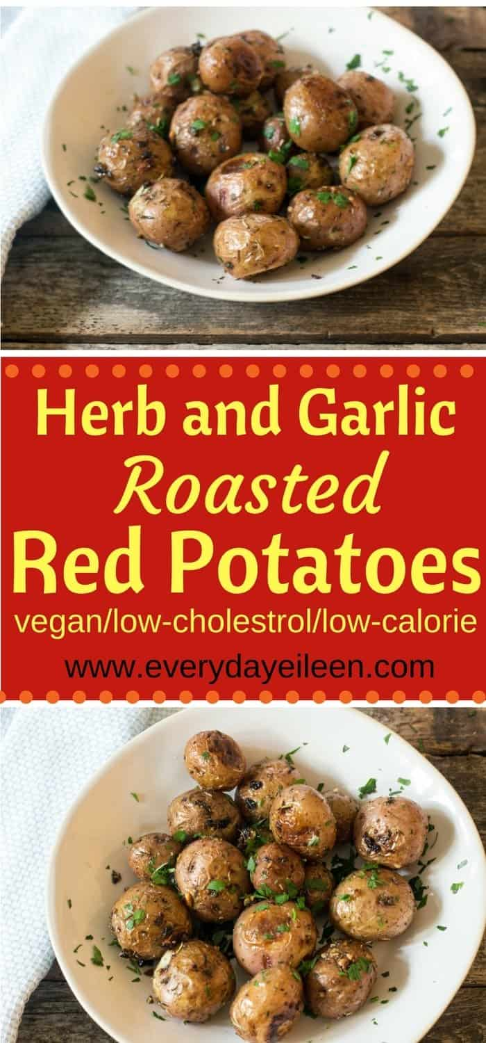 Herb and Garlic Roasted Red Potatoes