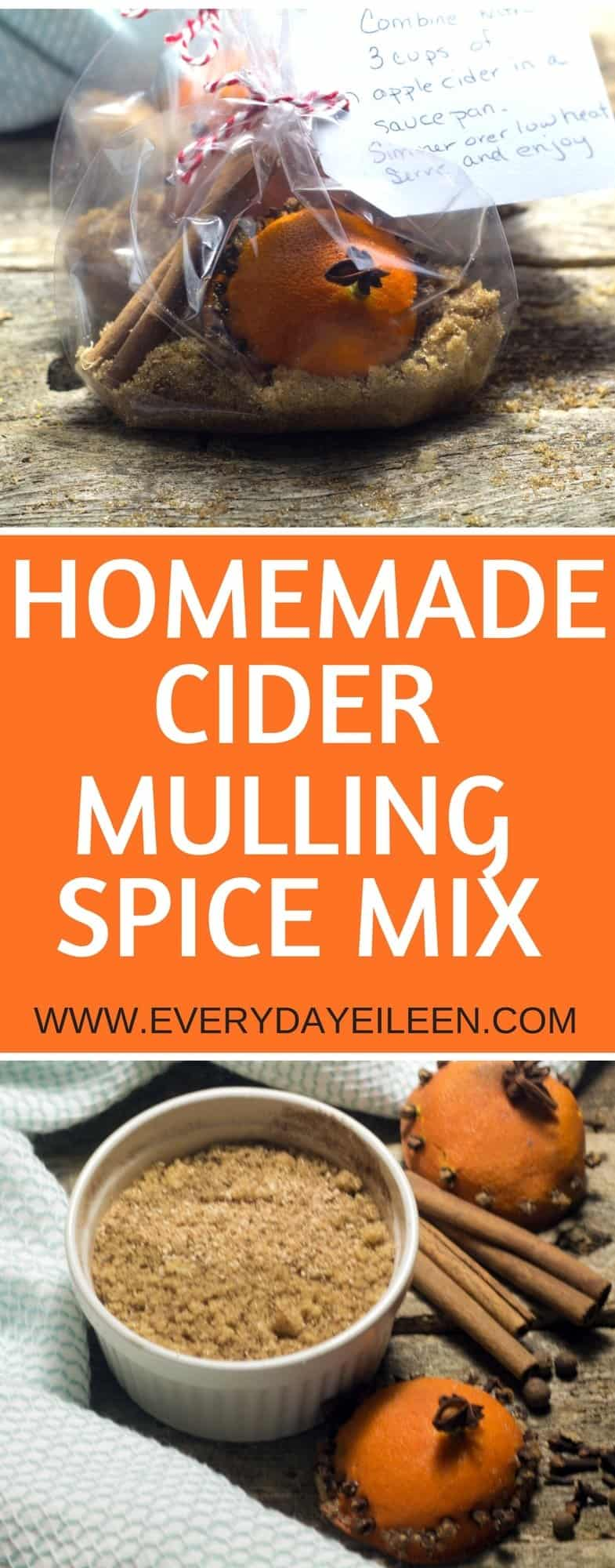 homemade cider mulling spice mix