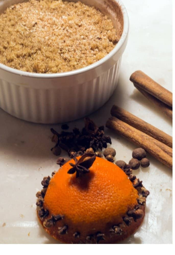 homemade mulling cider spice mix