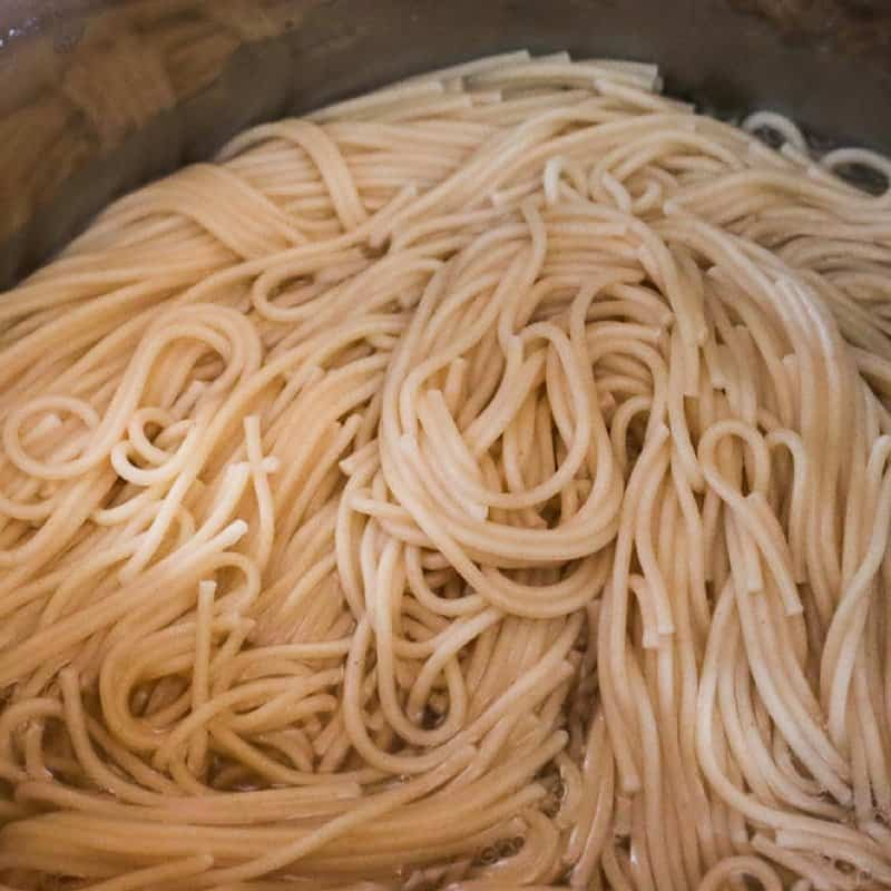 how to make pasta in the Instant Pot