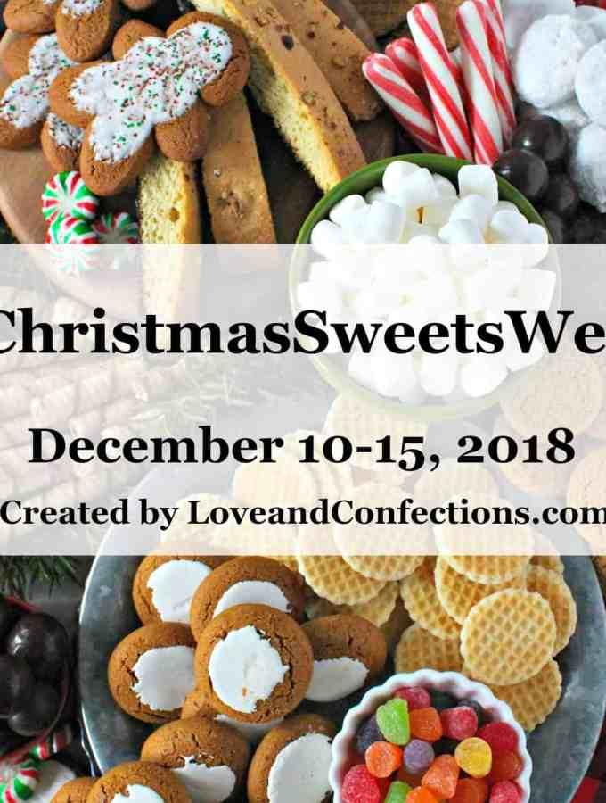 Welcome to #ChristmasSweetsWeek 2018