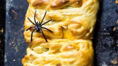 Halloween Mummy Taco Bread