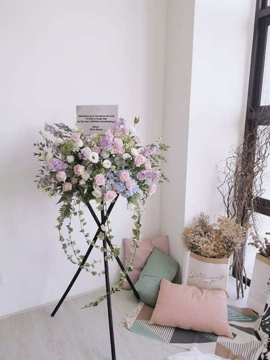 Grand Opening Flower Stand (Rebecca)
