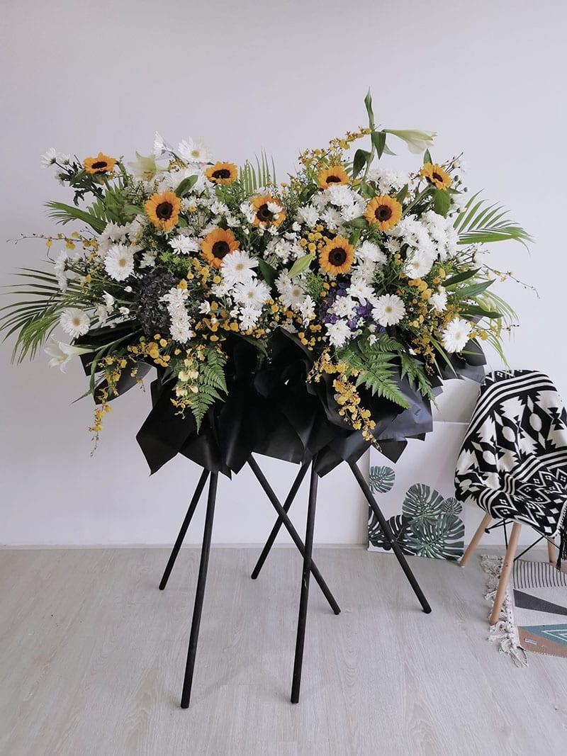 Premium Condolences/ Funeral Flower Stand #1