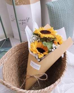 POPCORN #3 Sunflower Bouquet