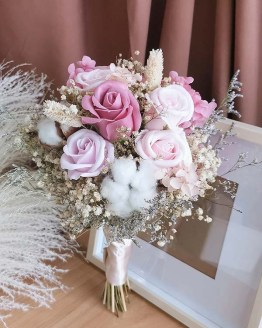 Carmen Bridal Bouquet (Soap flower)