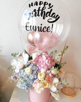 Eunice Hot Air Balloon Flower Box