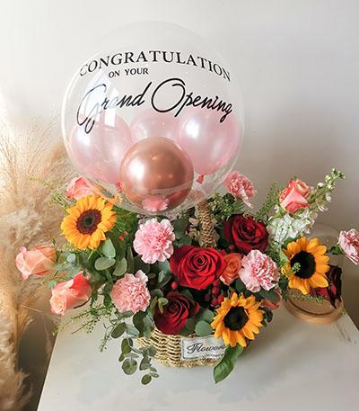 Joy Flower Basket