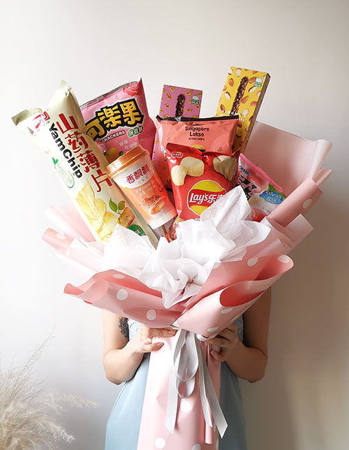 Snacks Party (Pink)