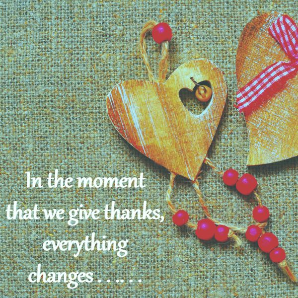 Living A Life of Gratitude