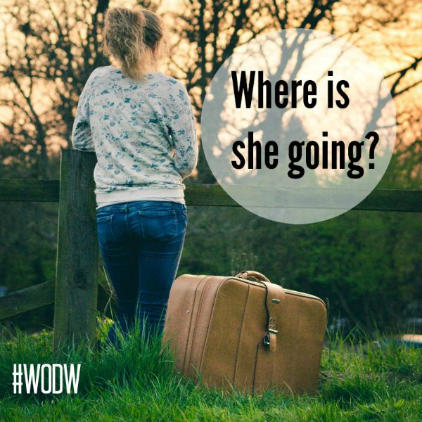 Where Is She Going? #septemberchallenge