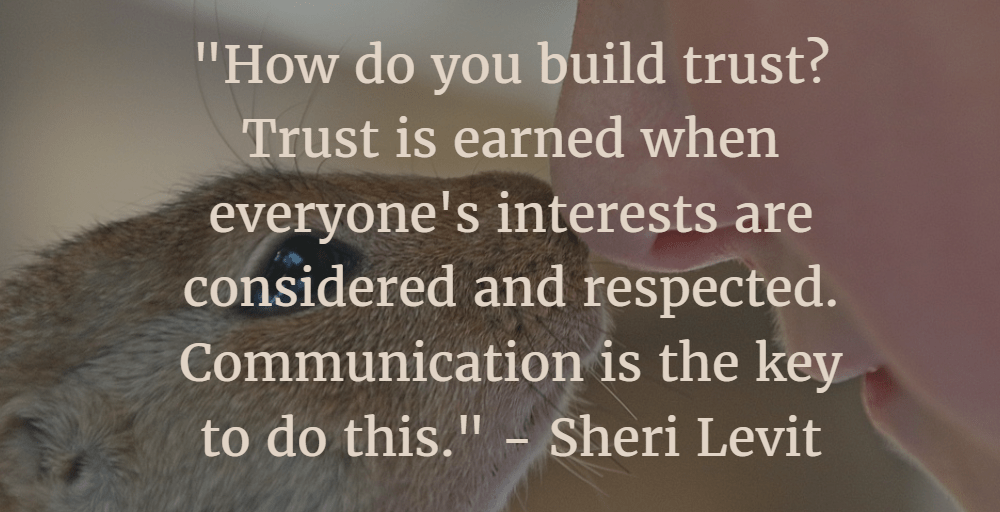 Earning Trust #MondayMusings