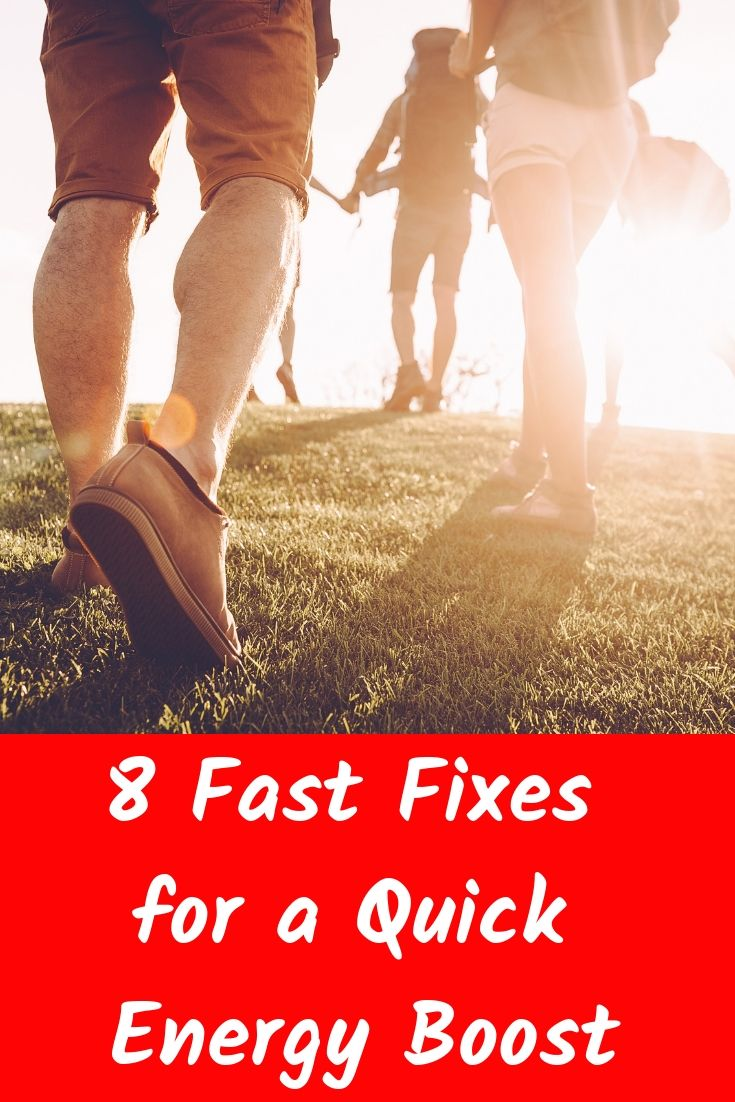 8 Fast Fixes for a Quick Energy Boost