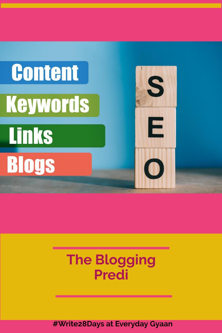 The Blogging Predicament