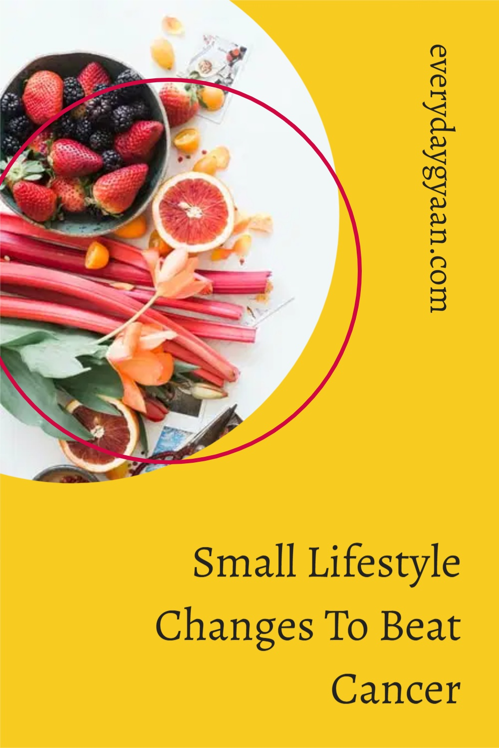 Small Lifestyle Changes To Beat Cancer