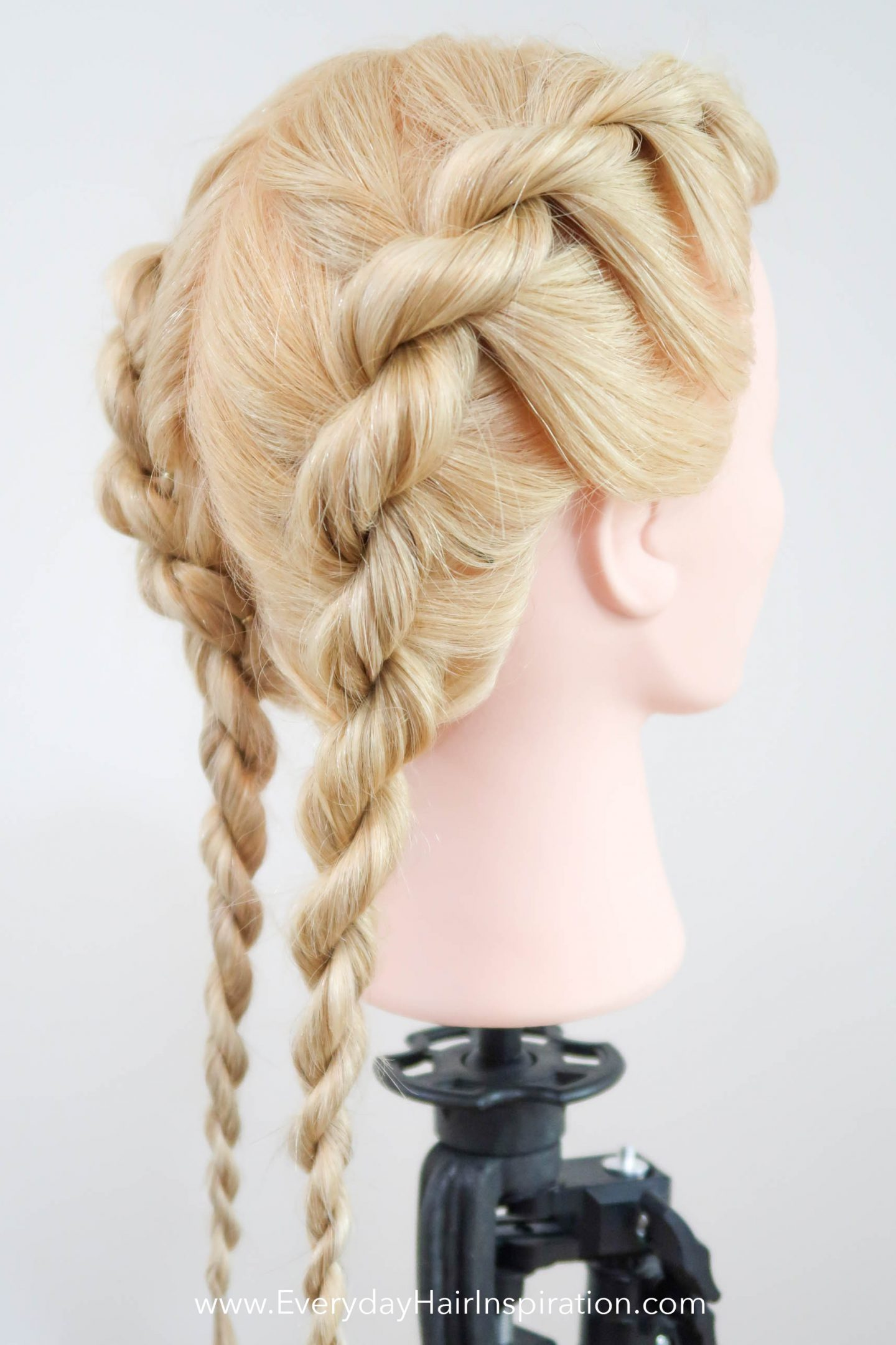 French Rope Braid Step By Step