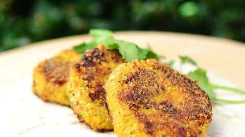 Healthy Cauliflower Cheese Patties Recipe