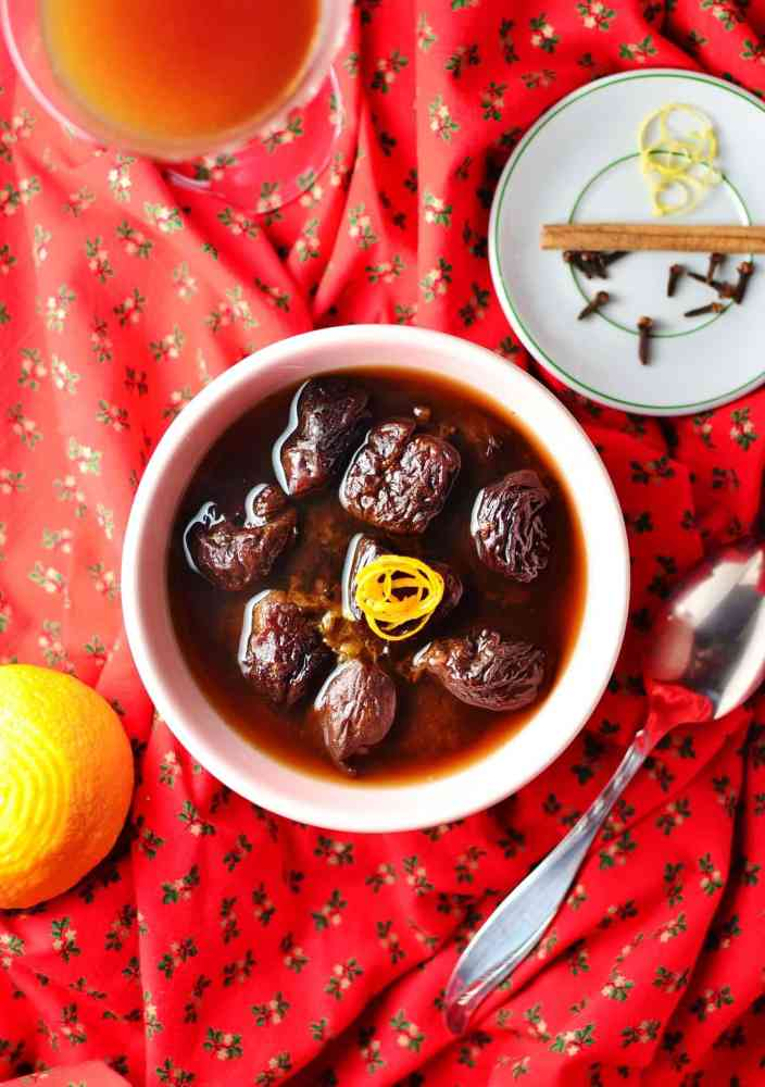 Polish Dried Fruit Compote Recipe (Christmas)