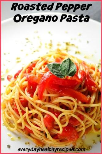 Roasted Pepper Oregano Pasta