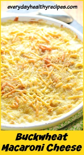buckwheat macaroni cheese