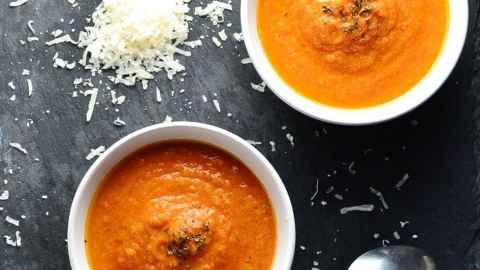Creamy Leftover Turkey Tomato Soup