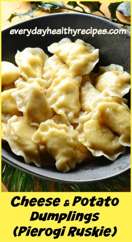 Polish Cheese and Potato Dumplings (Pierogi Ruskie)