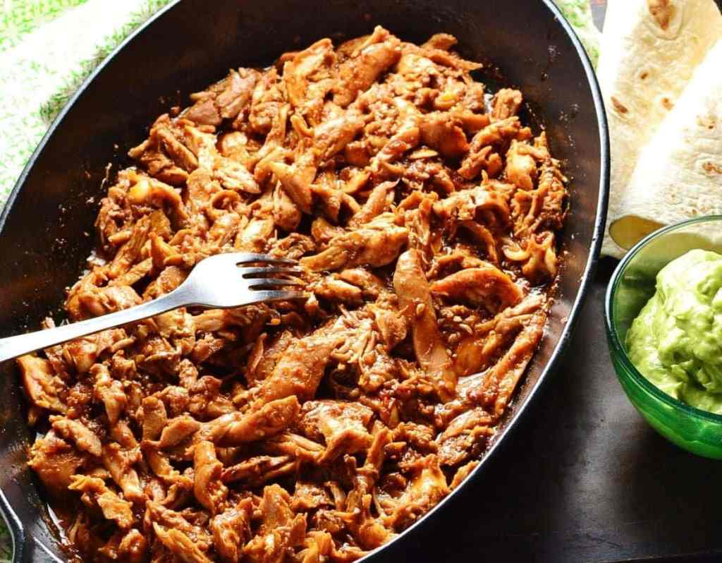 Easy Pulled Chicken Recipe the Healthy Way