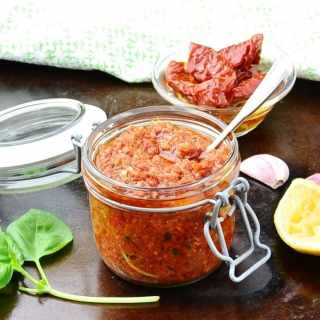 Easy Sun Dried Tomato Pesto Recipe