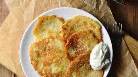 Crispy Polish Potato Pancakes (Placki Ziemniaczane)