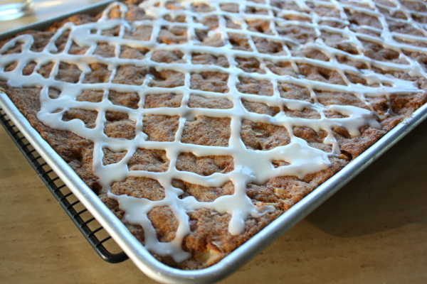 Apple Squares with Maple
