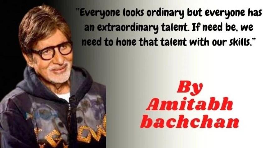 Amitabh Bachchan quotes