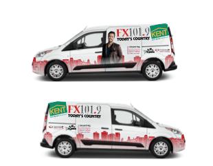 Promotional Vehicle Wraps