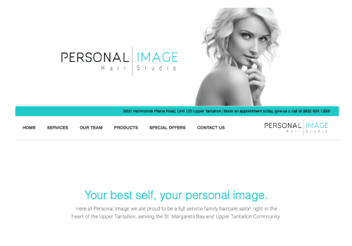 Personal Image Website