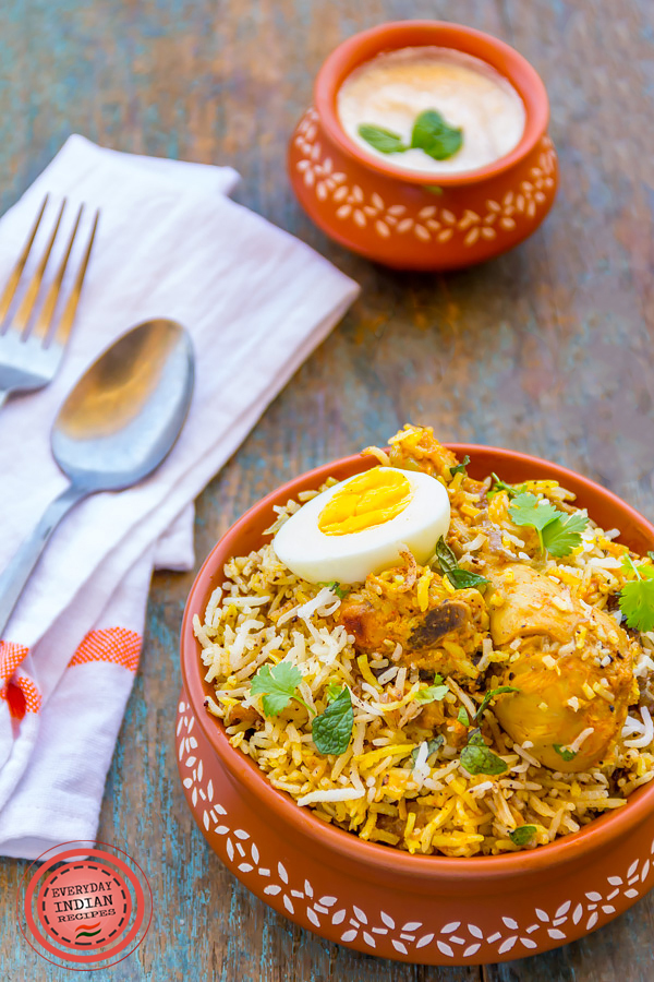 Best ever restaurant style chicken biryani everyday indian recipes restaurant style chicken biryani forumfinder Image collections