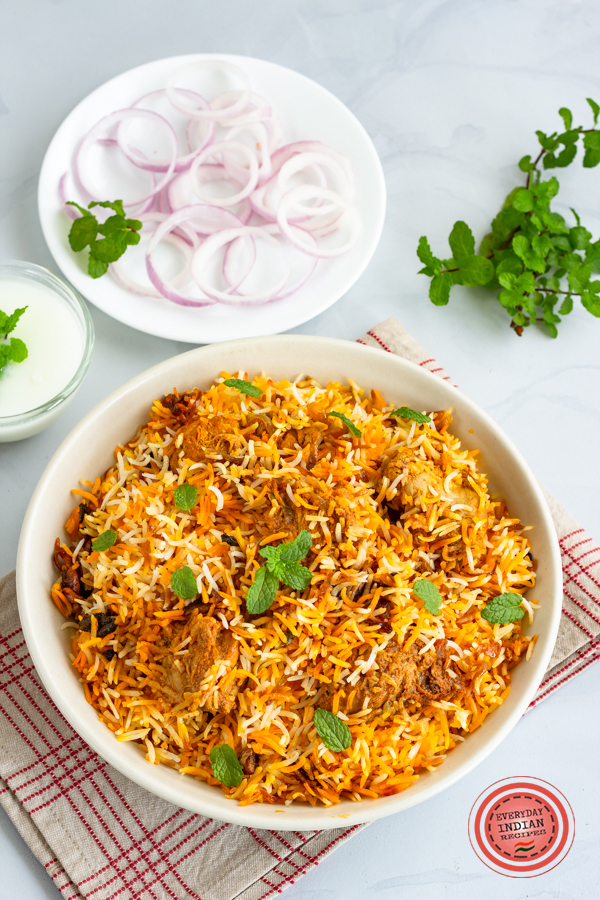 butter chicken biryani