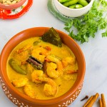 Chingri Malaikari | Classic Bengali Prawn Malai Curry Recipe