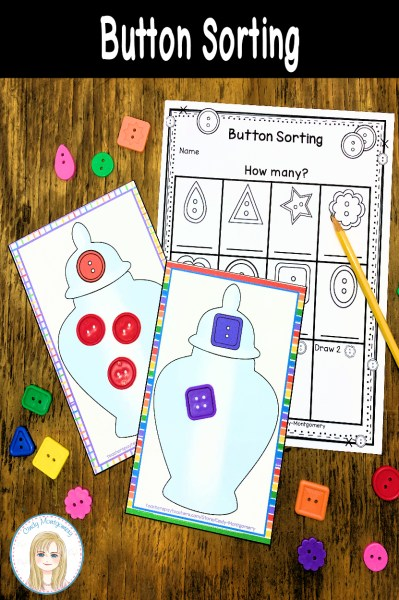 Button Sorting Jar Mats