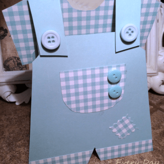 Little Boy Blue Handcrafted Card