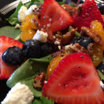 Strawberry Pecan Salad l Every Day is the Weekend!