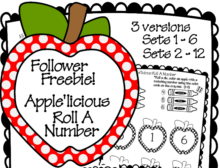 Apple'licious Roll a Number Follower Freebie