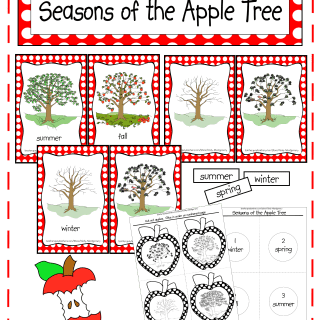 Seasons of the Apple Tree Printables & Activities