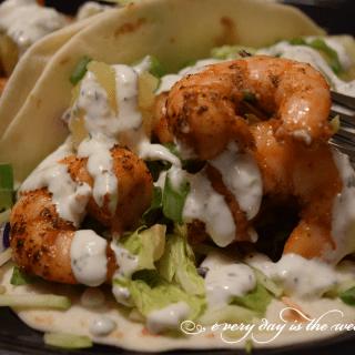 Delicious Shrimp Tacos