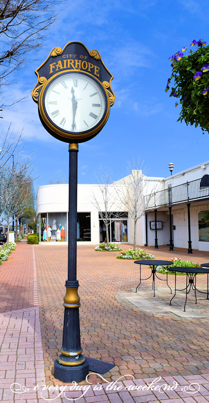 town clock l Destination: Fairhope, AL