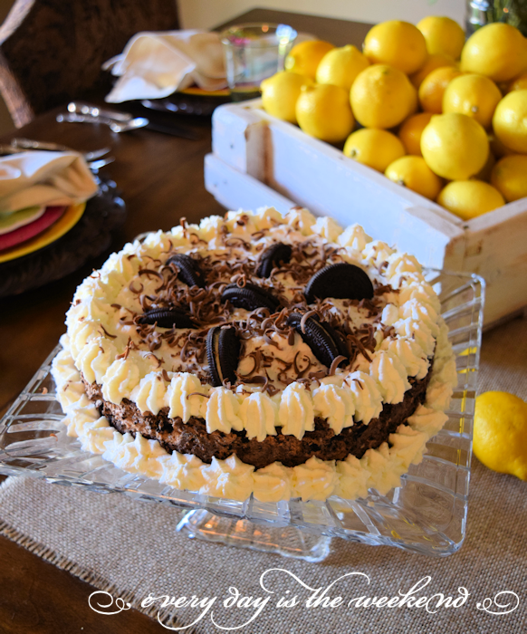 Oreo Cake l Summer Lunch with Friends