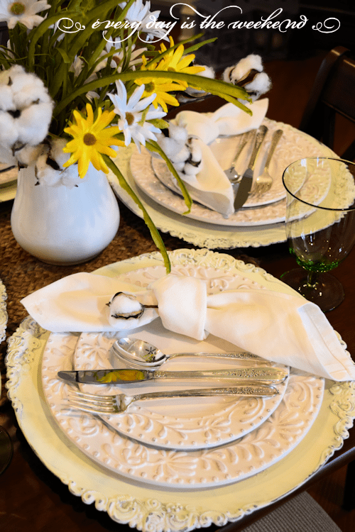 Southern Style Bunco table 1